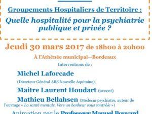 Groupements Hospitaliers de Territoire : Quelle hospitalité pour la psychiatrie publique et privée ?