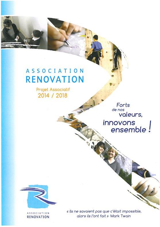 projet associatif Rénovation 2014-2018